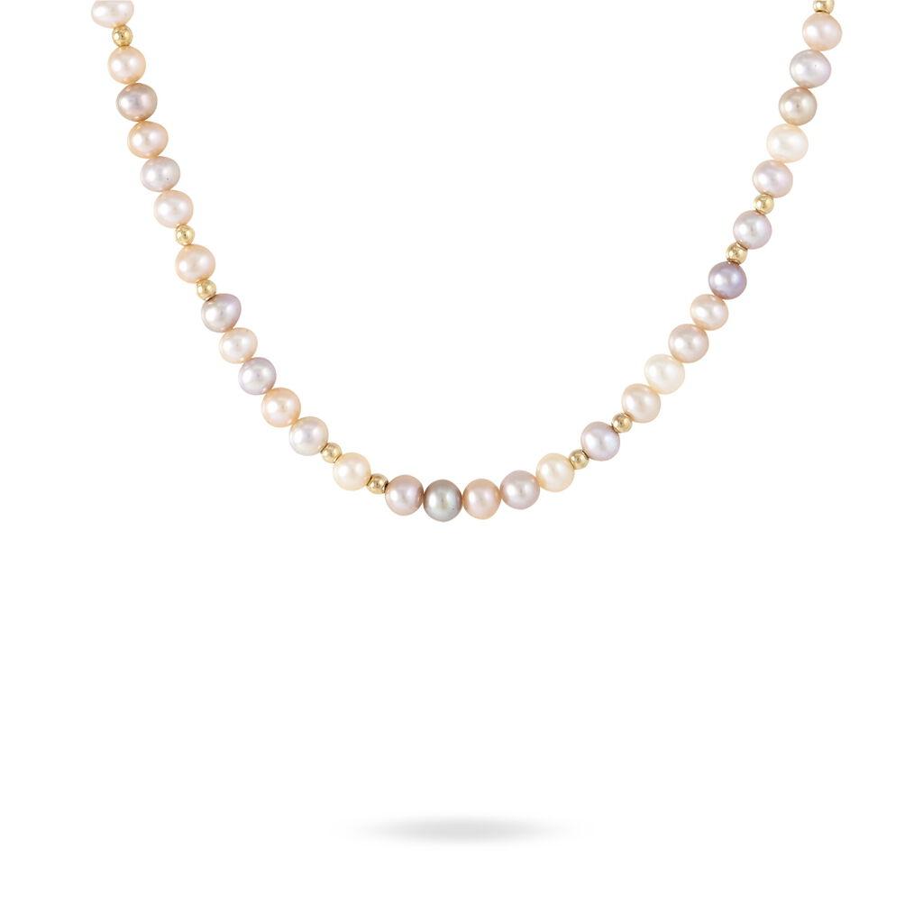 Collier Anne-lou Or Jaune Perle De Culture - Bijoux Femme | Histoire d'Or