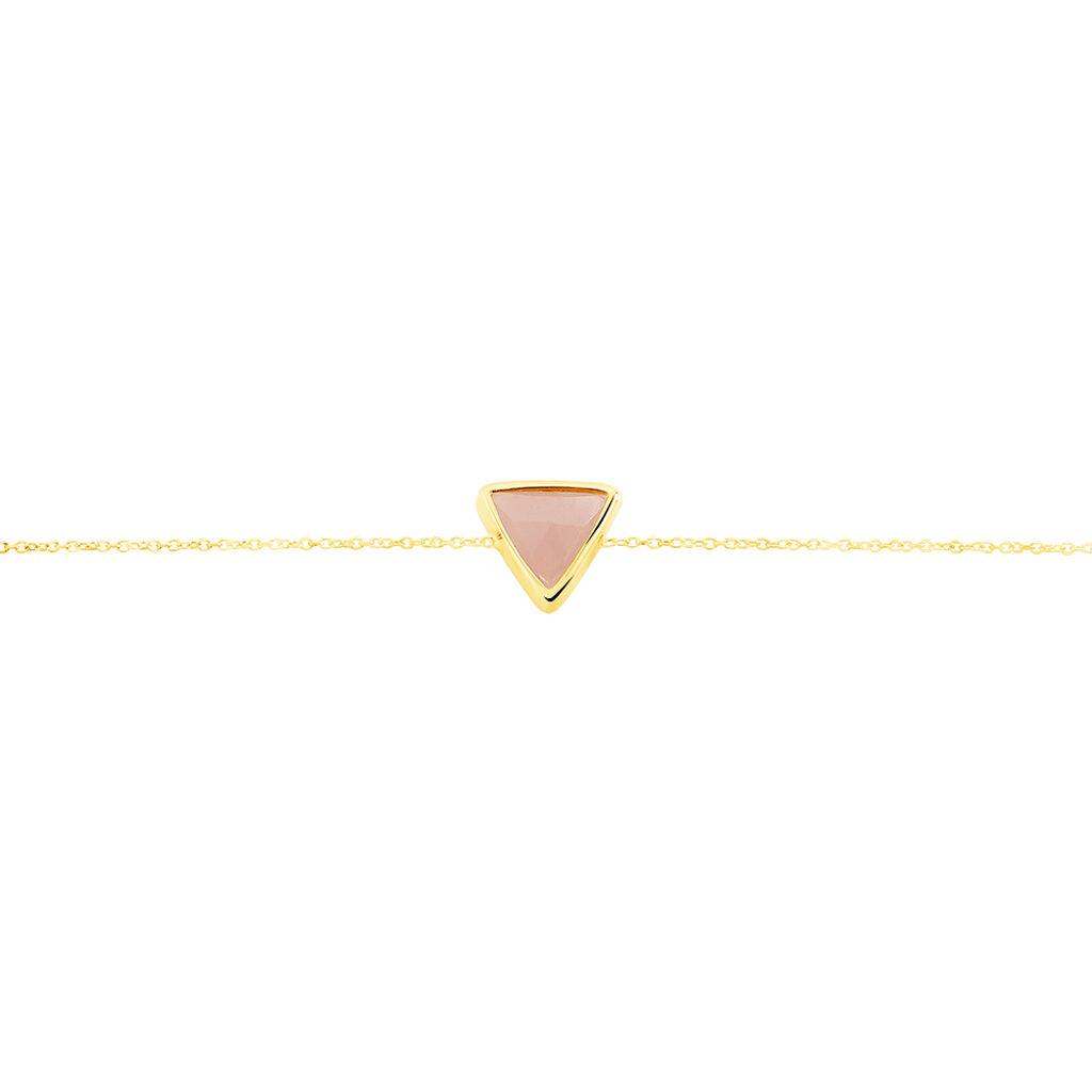 Bracelet Juliete Or Jaune Calcedoine - Bijoux Femme   Histoire d'Or
