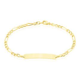 Bracelet Identite Bebe Or Jaune Evona - Bracelets Communion Enfant | Histoire d'Or