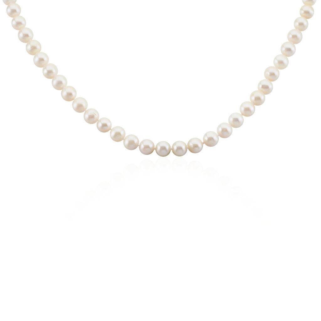 Collier Vincilia Or Jaune Perle De Culture - Bijoux Femme   Histoire d'Or