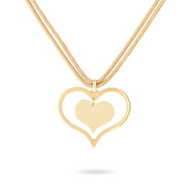 Collier Yanisse Or Jaune - Colliers Coeur Femme | Histoire d'Or