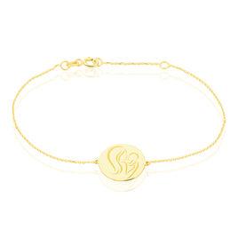 Bracelet Cobeia Maille Forçat Or Jaune - Bracelets Naissance Enfant   Histoire d'Or