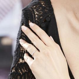Bague Solitaire Anilie Or Blanc Diamant - Bagues solitaires Femme | Histoire d'Or