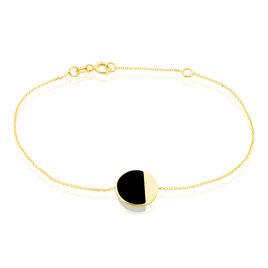 Bracelet Guenia Or Jaune Onyx - Bijoux Femme | Histoire d'Or