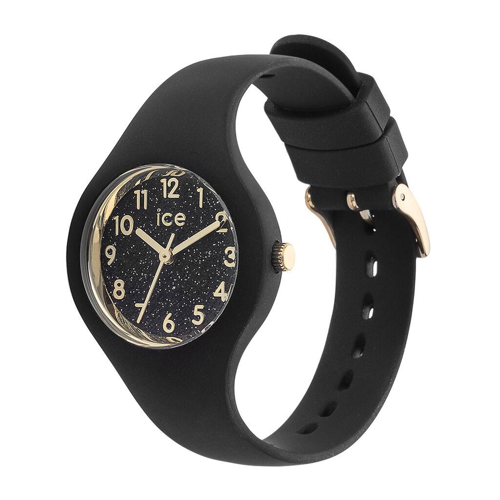 Montre Ice Watch Glitter Noir - Montres classiques Unisexe   Histoire d'Or