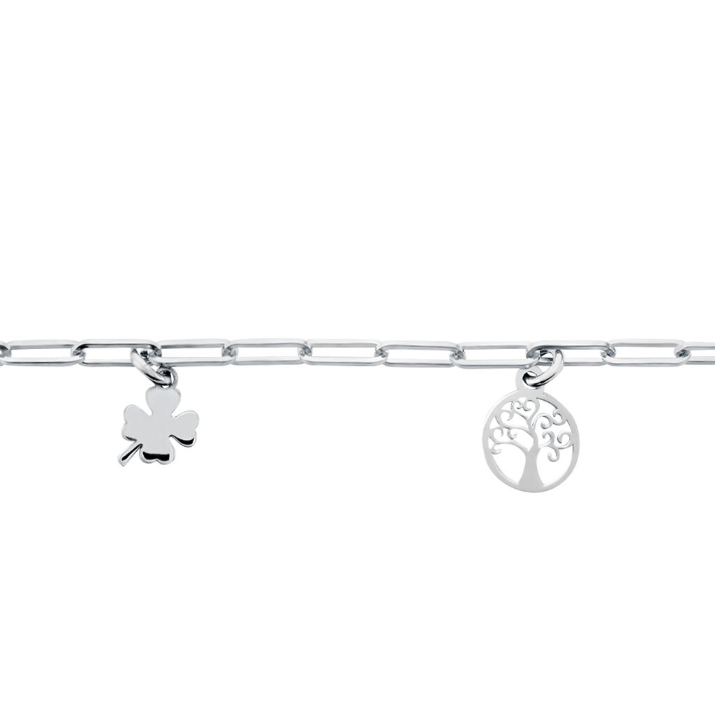 Bracelet Taola Argent Blanc - Bracelets Arbre de vie Femme | Histoire d'Or