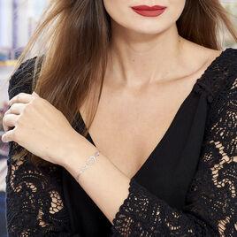 Bracelet Argent Cœur - Bracelets fantaisie Femme | Histoire d'Or
