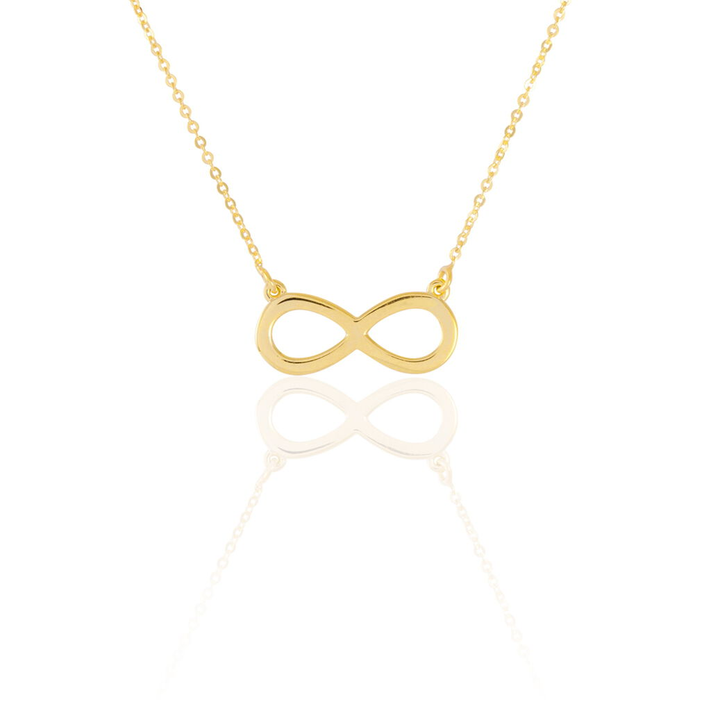 Collier Maryeme Infini Selectra Or Jaune