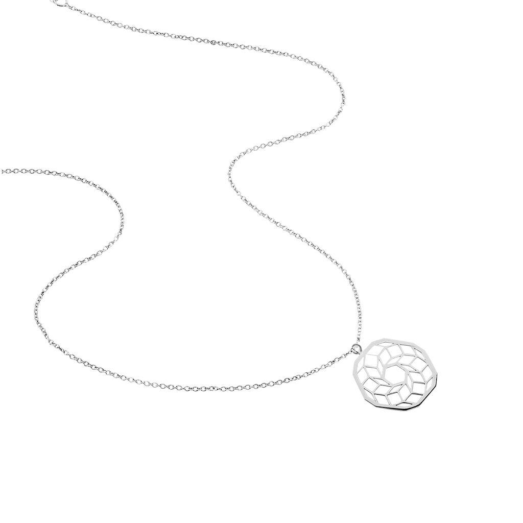 Collier Liola Argent Blanc - Colliers fantaisie Femme | Histoire d'Or