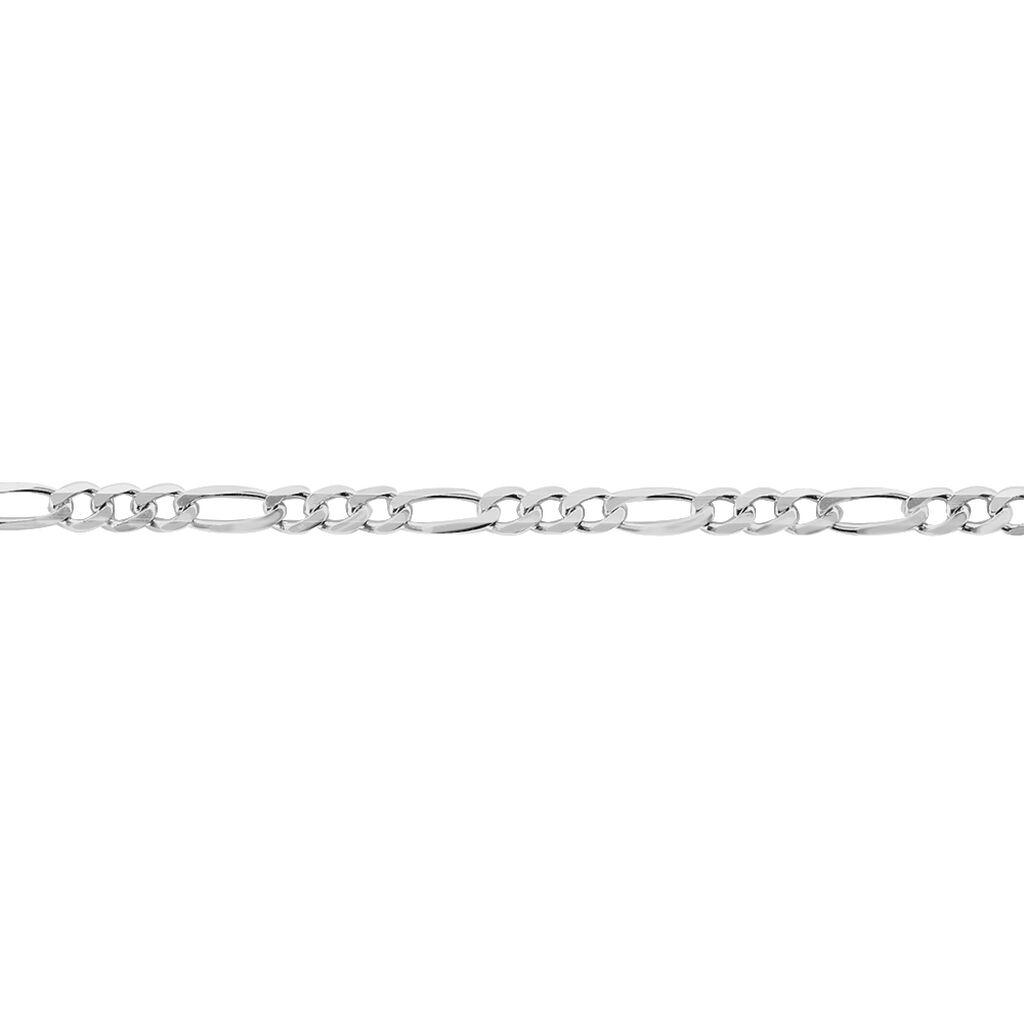 Bracelet Argent Blanc - Bracelets chaîne Homme | Histoire d'Or