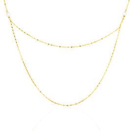 Collier Elki Or Jaune Perle De Culture - Sautoirs Femme   Histoire d'Or