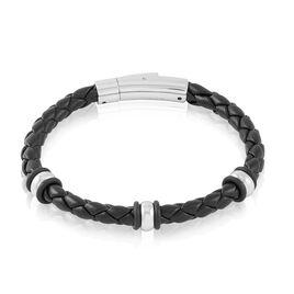 Bracelet Brandon Acier Blanc - Bracelets fantaisie Homme | Histoire d'Or