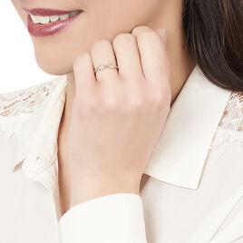 Bague Infini Argent Blanc - Bagues Infini Femme | Histoire d'Or