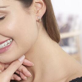 Boucles D'oreilles Puces Belinda Or Jaune Diamant - Clous d'oreilles Femme   Histoire d'Or