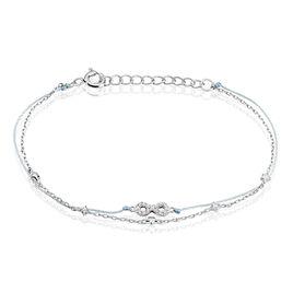 Bracelet Vera Argent Blanc Oxyde De Zirconium - Bracelets Infini Femme | Histoire d'Or