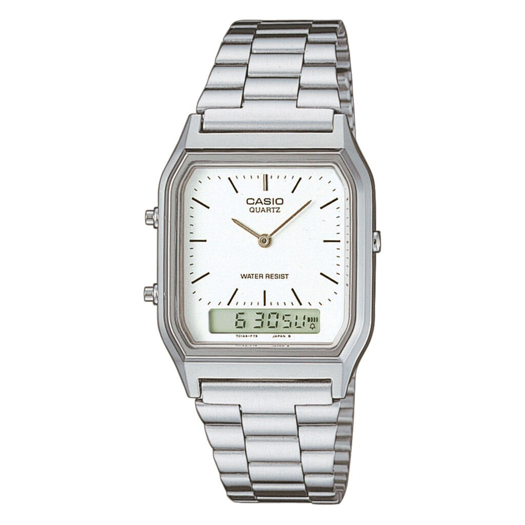 Montre Casio Collection Vintage Blanc