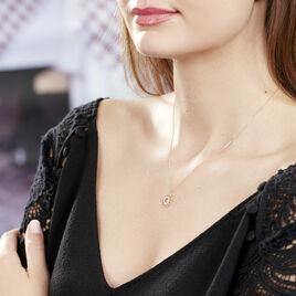Collier Thallya Or Jaune Oxyde De Zirconium - Bijoux Femme | Histoire d'Or