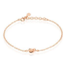 Bracelet Ania Argent Rose - Bracelets fantaisie Femme   Histoire d'Or