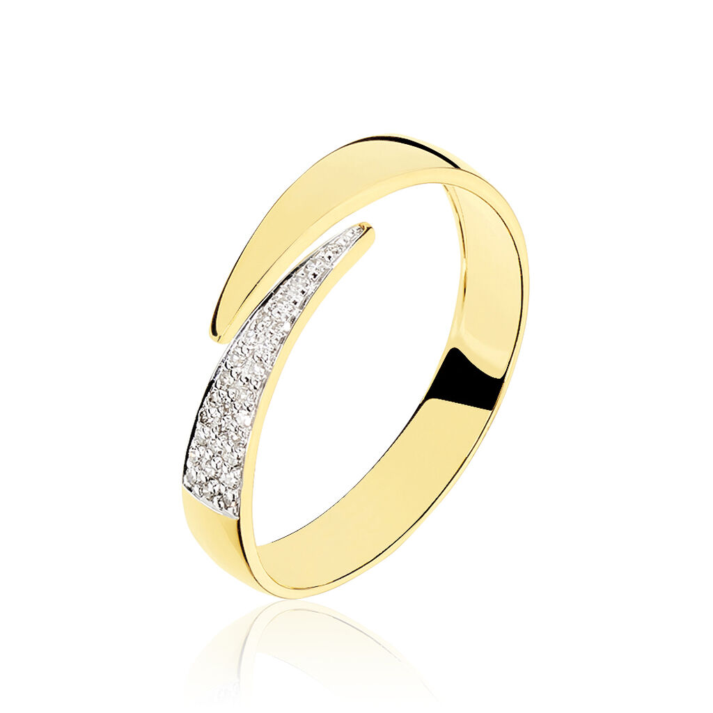 Bague Lyuba Or Jaune Diamant