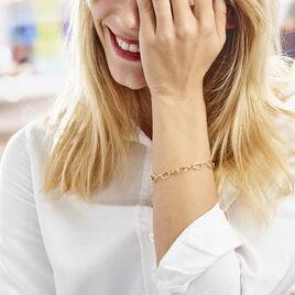 Bracelet Crepine Or Jaune - Bijoux Femme | Histoire d'Or