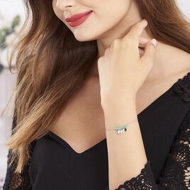 Bracelet Polyna Argent Blanc Pierre De Synthese - Bracelets fantaisie Femme | Histoire d'Or