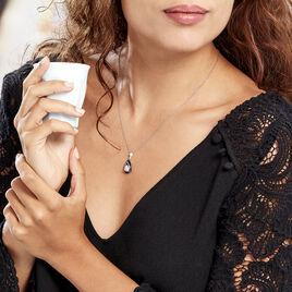 Collier Marina Cera Argent Blanc Céramique Et Oxyde De Zirconium - Colliers fantaisie Femme | Histoire d'Or