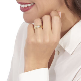 Bague Tamaya Or Jaune Diamant - Bagues avec pierre Femme | Histoire d'Or