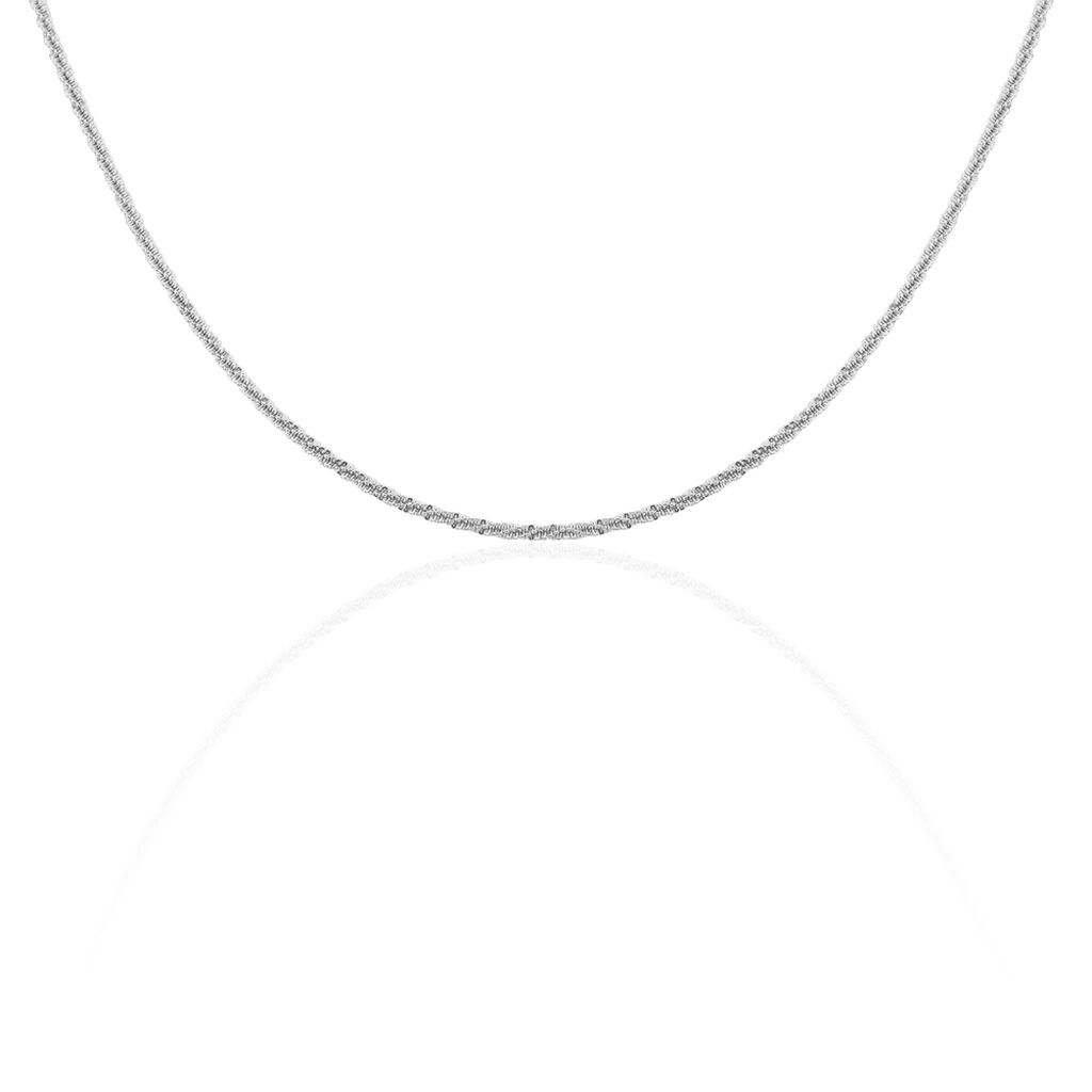 Chaîne Shaynisae Argent Blanc - Chaines Femme   Histoire d'Or