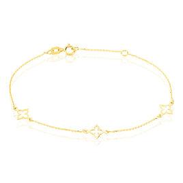 Bracelet Kalia Or Jaune - Bracelets Trèfle Femme | Histoire d'Or