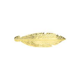 Broche Hoaae Or Jaune - Bijoux Plume Femme | Histoire d'Or