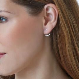 Bijoux D'oreilles Or Blanc Diamant - Ear cuffs Femme | Histoire d'Or