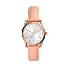 Montre  Fossil Copeland Three Hand Blanc - Montres Femme   Histoire d'Or