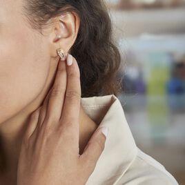 Demi Créoles Griselidis Or Jaune  Oxyde - Boucles d'oreilles créoles Femme | Histoire d'Or