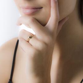 Bague Nesryne Or Jaune Saphir - Bagues solitaires Femme | Histoire d'Or