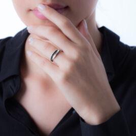 Bague Lexy Argent Blanc Oxyde De Zirconium - Bagues avec pierre Femme | Histoire d'Or