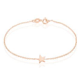 Bracelet Minitoile Argent Rose - Bijoux Etoile Femme   Histoire d'Or