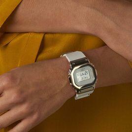 Montre Casio G-shock Blanc Et Gris - Montres Femme   Histoire d'Or