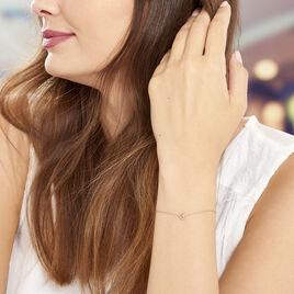 Bracelet Menel Argent Rose - Bracelets Coeur Femme | Histoire d'Or