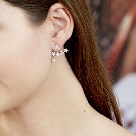Bijoux D'oreilles Argent Rhodie Constellation Ear Cuff - Boucles d'Oreilles Etoile Femme   Histoire d'Or