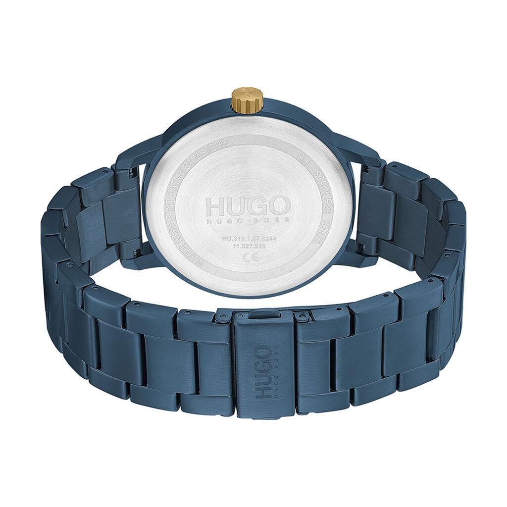 Montre Hugo Stand Bleu - Montres Homme | Histoire d'Or