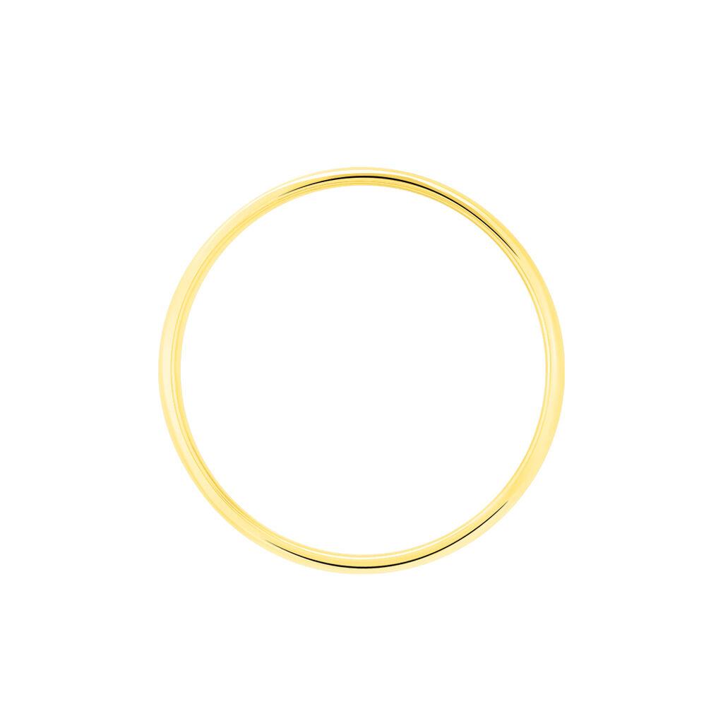 Alliance Julie Ruban Classique Or Jaune - Alliances Unisex   Histoire d'Or