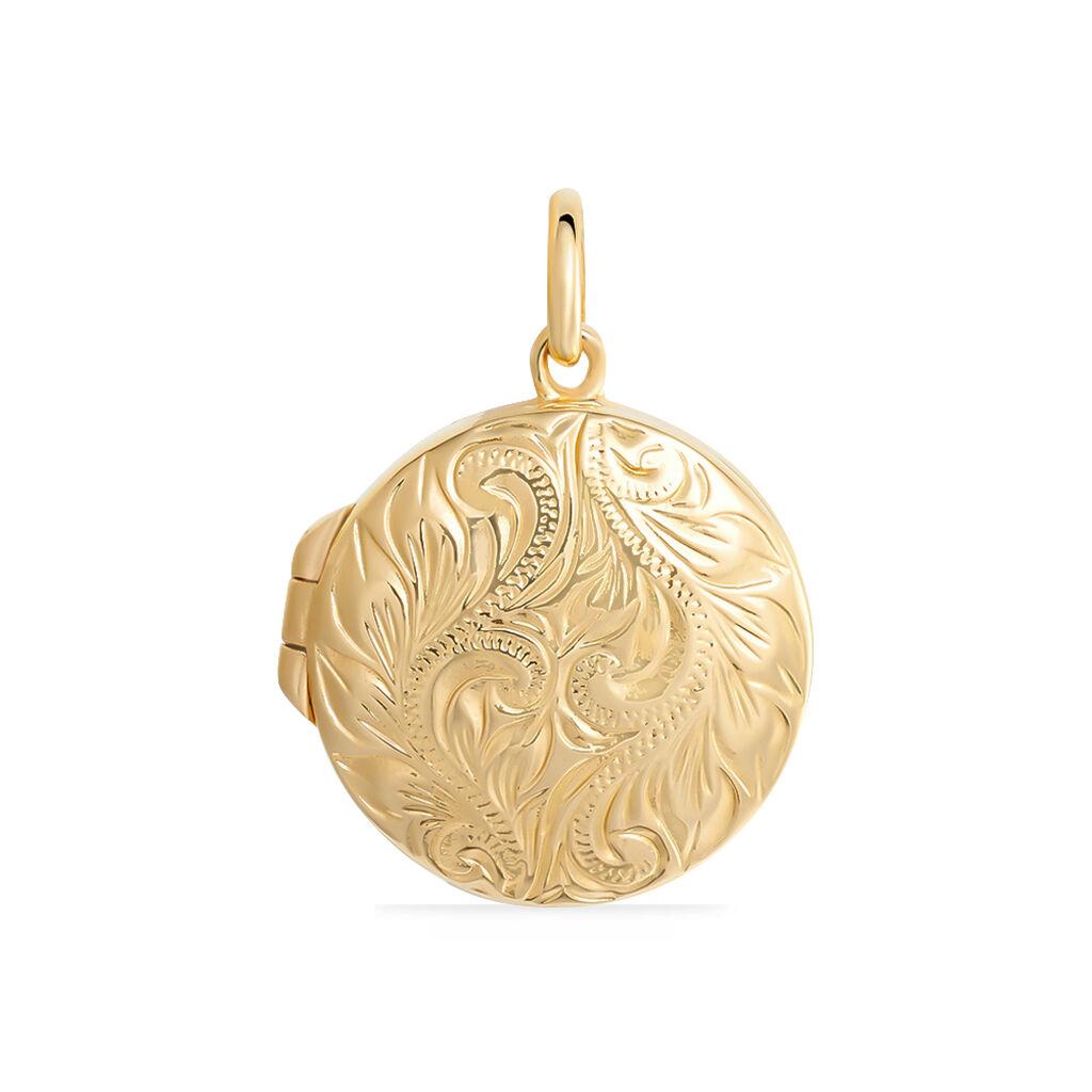 Pendentif Kahla Plaque Or Jaune - Pendentifs Femme | Histoire d'Or