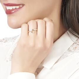Bague Molly Or Jaune Diamant - Bagues avec pierre Femme   Histoire d'Or