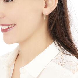 Créoles Elizabeta Or Jaune - Boucles d'oreilles créoles Femme   Histoire d'Or