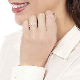 Bague Myrtle Or Jaune Oxyde De Zirconium - Bagues avec pierre Femme | Histoire d'Or