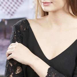Bracelet Elizabeta Or Bicolore - Bijoux Femme   Histoire d'Or