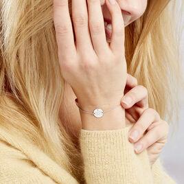 Bracelet Bangkok Argent Blanc Oxyde De Zirconium - Bracelets Zodiaque Femme | Histoire d'Or