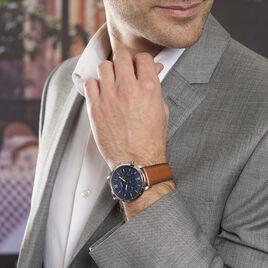 Montre Fossil Neutra Chrono Bleu - Montres sport Homme | Histoire d'Or