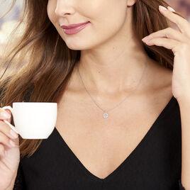 Collier Audrey-rose Argent Blanc - Colliers Arbre de vie Femme | Histoire d'Or