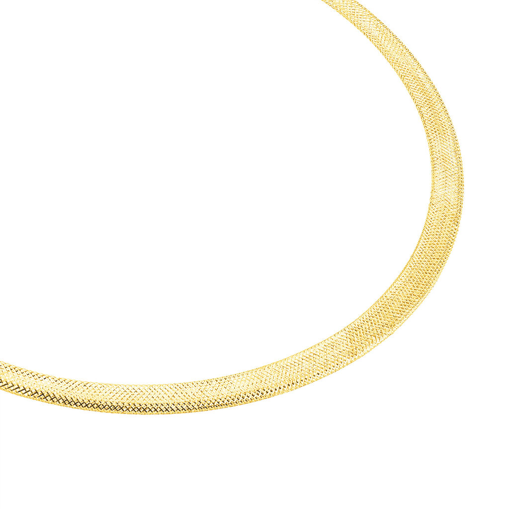 Collier Izaro Danilo Maille Flex Or Jaune - Chaines Femme   Histoire d'Or
